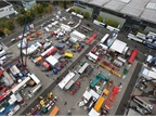 The outdoor area is only a small fraction of the total IAA floor