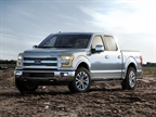 2015 F-150 with aluminum body