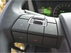 Volvo cruise control switches are on the left side on the steering