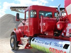 Ozinga Ready Mix Concrete Inc. replaced aging mixer trucks working