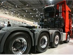 A new MAN TGX heavy haulier for 250 ton loads was introduced. It is
