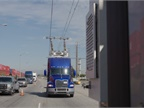 Test trucks are able to maintain highway cruise speeds using only
