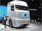The Future Truck 2025 from Mercedes will also include a comfortable