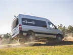 The 4x4 version of the MY-2015 Sprinter will be offered in the first