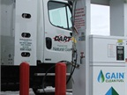 In February Dart Transit launched a small fleet of CNG powered