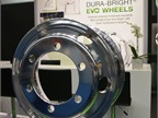 Alcoa rolled out the lightest heavy duty truck wheel in Europe at IAA;