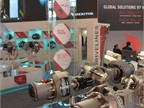 Meritor demonstrated the versatility of its axles, brakes and