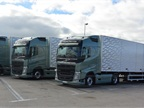 A Volvo FH 13 with 540-hp 13-liter diesel and an I-Shift Dual Clutch