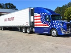 This Volvo VN leased to Karl s Transport in Antigo, WI often visits