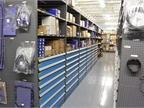 The company keeps a $2 million spare parts inventory.