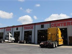 The service department at Peach State Truck Centers focuses on