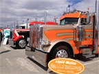 A lot of very nice rigs at MATS PKY Truck Beauty Contest.