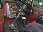 The captain s seat in a 1972 Peterbilt 359, owned by David Strickland,
