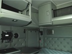 The sleeper interior is well over seven feet tall, with plenty of