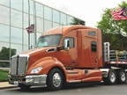 The T680 with the new-for-2015 mid-roof 76-inch sleeper. Photo by Jim