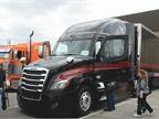 Bruce Christian, Hartford, Wisconsin. 2017 Freightliner Cascadia.