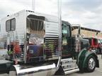 Larry Dyck, Jade Transport, Winnipeg, Manitoba. 2017 Kenworth W900L.