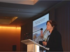 Karen Spring, road transportation manager, Shell, was the speaker for
