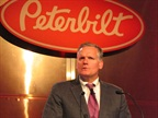 Bill Kozek, VP of Paccar and GM of Peterbilt, announced the addition