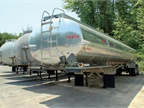 This 9,500-gallon DOT406 Beall trailer is one of the newest units in