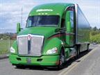KenworthT680 Advantage (shown) has been well received by customers, KW