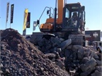 Concrete- and aggregate-handling equipment in huge variety comprised
