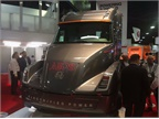 Cummins  Aeos electric concept truck drew big crowds during the NACV