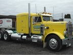 This 1960 Peterbilt, owned by Cathart Transport at the time the photo