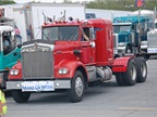 Big Red,  a 1972 Kenworth, was driven by Carl Ellerman three times in