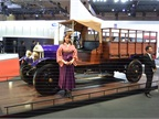 The first Isuzu truck to have been built is the 1924 Wolseley, based
