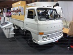 The Fuso Canter has been around for 50 years. On display was an early