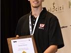 Daniel Hanna, a student at Forsyth Technical Community College, won