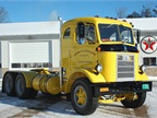 This one goes back a few years. It s a 1957 Mack H63 highway truck,