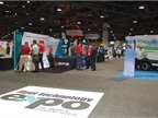 OEMs display their products in the Exhibit Hall.