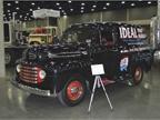 1940s vintage Ford delivery sedan. Photo: Jack Roberts