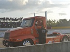 This General Lee themed Freightliner was popular with the Alabama