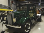 This 1935 Mack BM model was a typical  long haul  spec for the time.