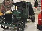 This 1923 AB model features a dump body and wood frame cab. Photo: