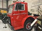 This Mack D42T cabover dates from 1955. Power was supplied by a 6
