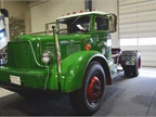 This Mack-built 1947 Brockway has a 6 cylinder Continential gas engine