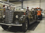 Another Mack musem highlight is this 1939 open-top fire engine. Photo: