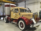 The newest truck in the collection is this beautifully restored 1950