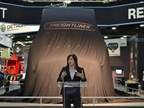 Diane Hames, general manager of marketing and strategy at Daimler Trucks North America, introduced the audience to the company's newest concept vehicle.