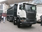 Scania R500 10x4 Mininng tipper for coal transport with 34 cubic meter
