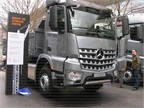 Mercedes Arocs is a new model with all wheel drive.