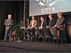 HDT Equipment Editor Jim Park moderates a panel discussion of HDT s