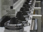 Transmission gears go through another step in the manufacturing