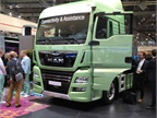 Connectivity was on the lips of all the heavy-duty OEMs at IAA; here