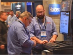 In the HDAW exhibit hall. Photo courtesy Today s Trucking