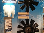 Horton s WindMaster fans were one of many products showcased in the